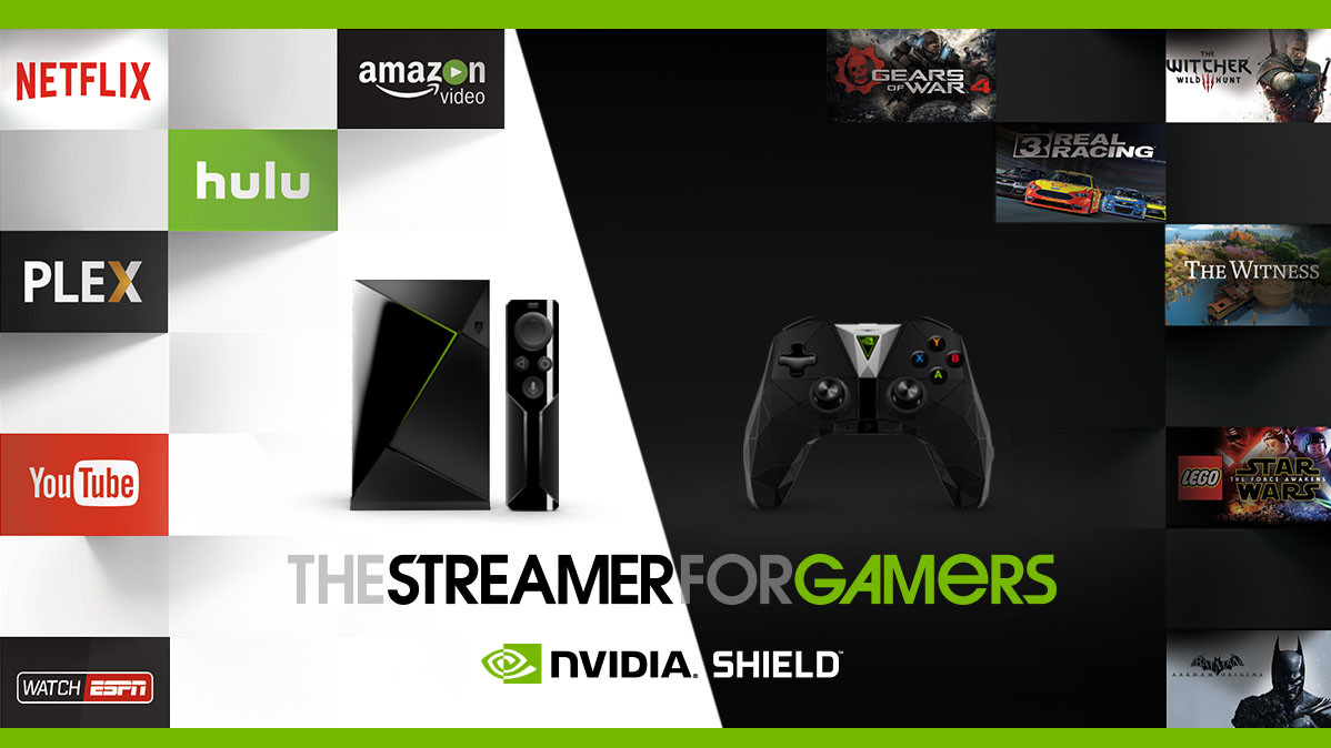 NVIDIA SHIELD TV Advanced Streaming Media Player
