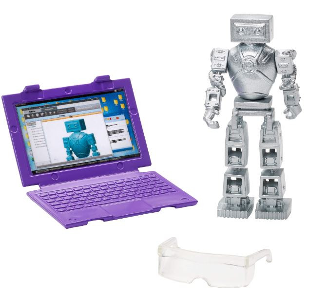 Robotics Engineer Barbie® Doll With Laptop And Robot
