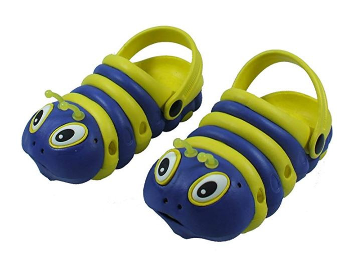 Delightful Bright Caterpillar Slip On Shoes For Kids
