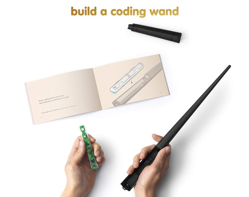 Learn To Code Harry Potter Build A Wand Kit