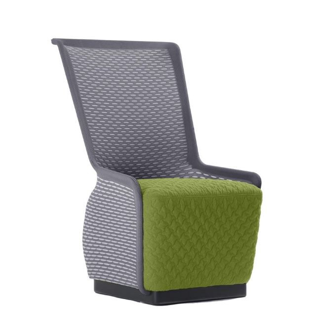 Contemporary Contoured Seat With Unique Design