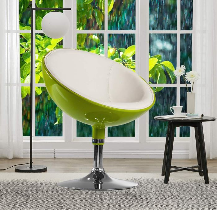 Interesting Modern Swivel Lounging Chair