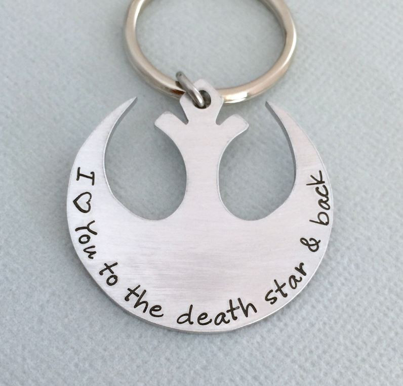 Geeky Romance Star Wars Death Star Keychain