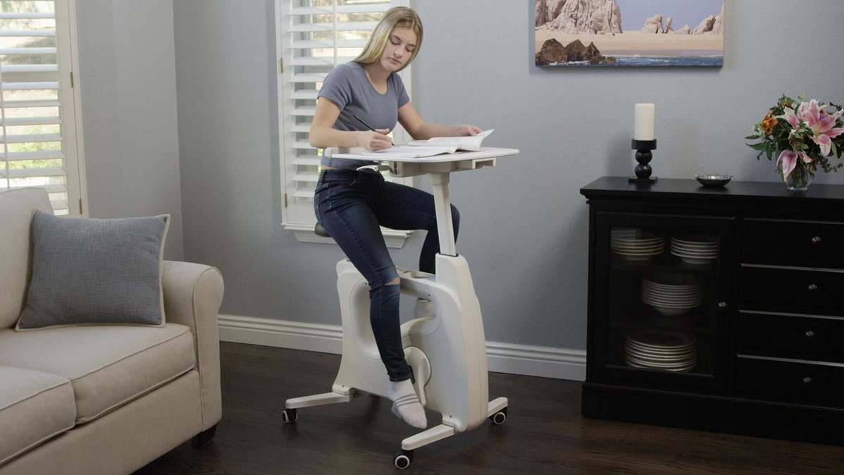 Deskcise Pro The All In One Desk Bike To Keep You Active