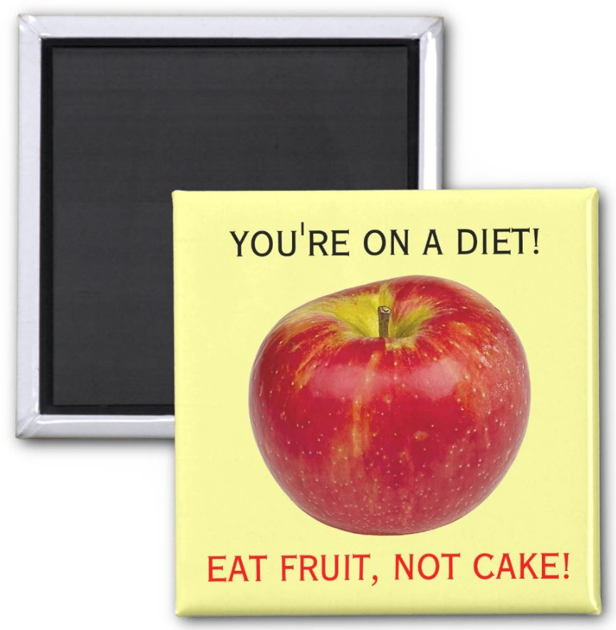 12 Slightly Annoying Fridge Magnets To Remind You To Make Healthy Choices