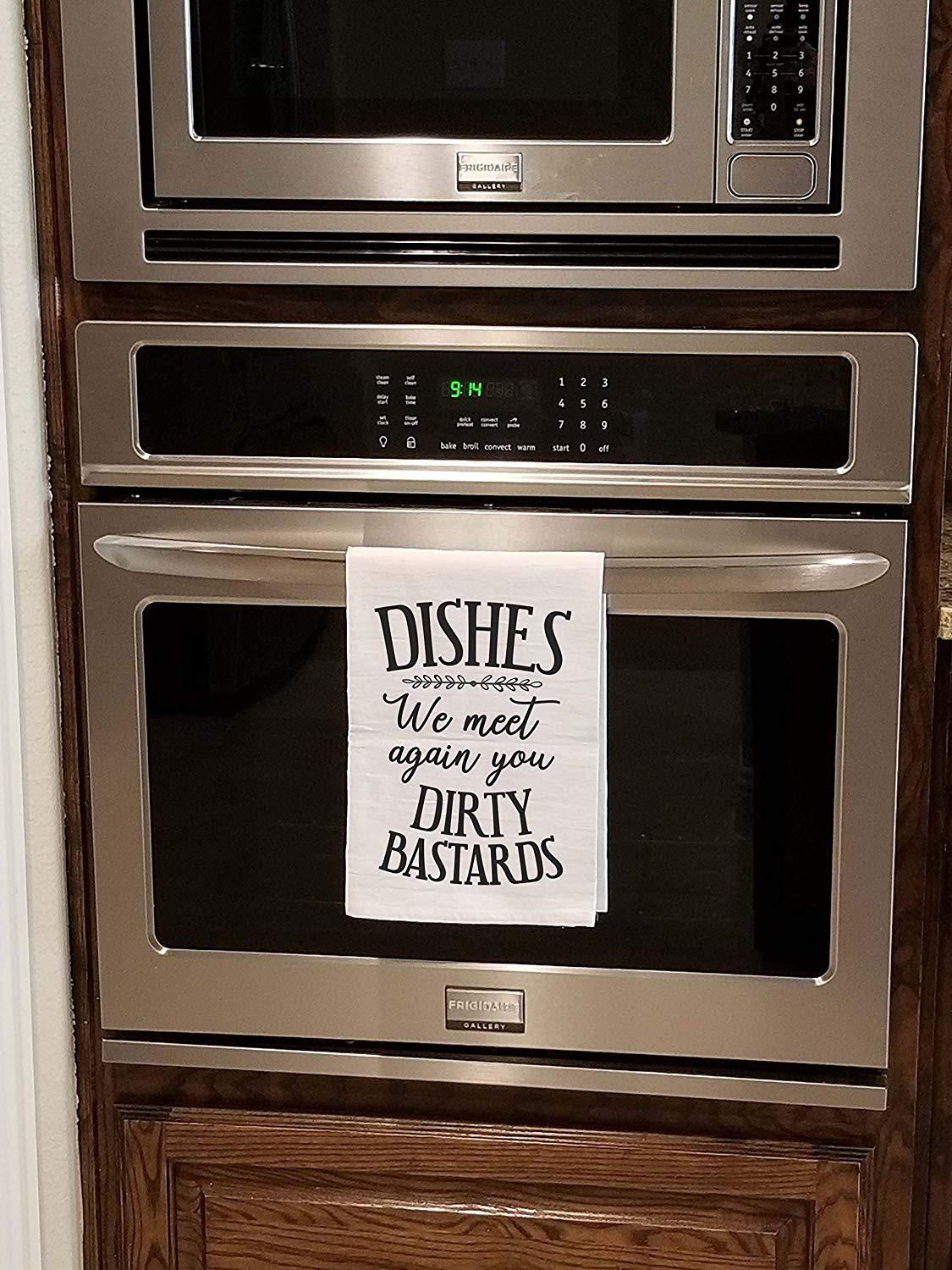 Extremely Funny Kitchen Dish Towel That Is Sure To Make You Smile