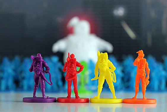 Ghostbusters Board Game With Collectible Pieces