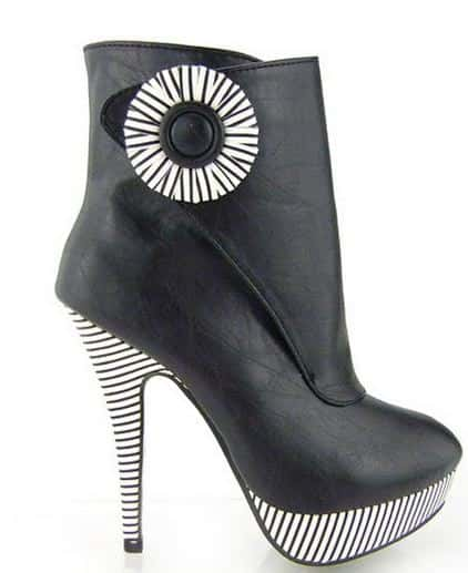 punk ankle boots