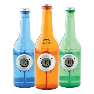 water powered bottle clock