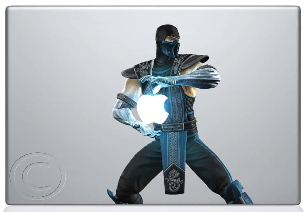 Sub Zero Macbook Decal