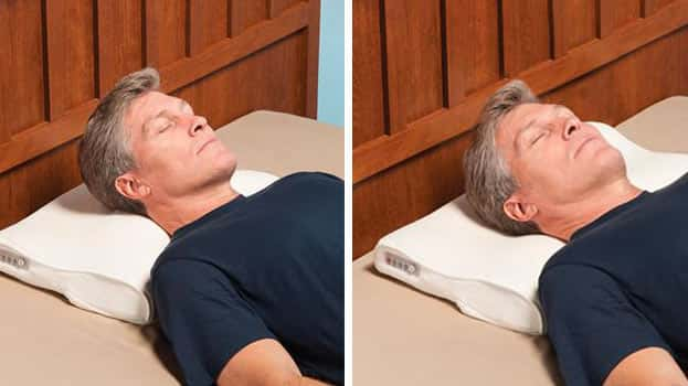 Snore Activated Nudging Smart Pillow