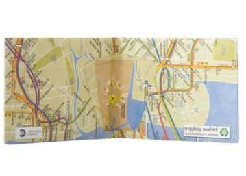 Mighty Subway Map Wallet
