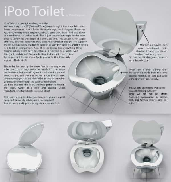 Apple iPoo Toilet