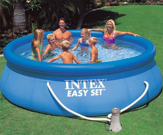 Round Pool Set for Family Fun