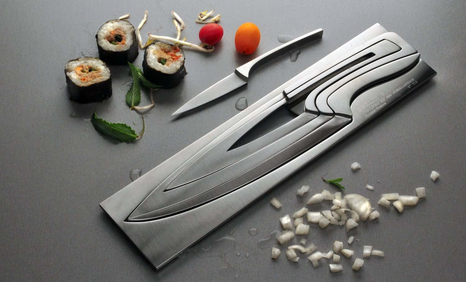 Contemporary Knife Set