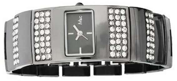 studded watch