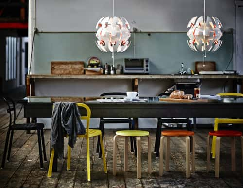Beautiful Exploding Ikea Pendant Light