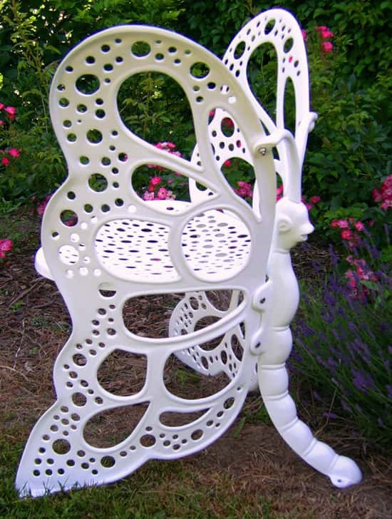 butterfly garden chair