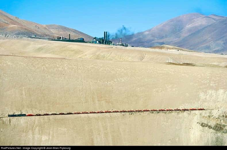 Spectacular Train Route In Chile