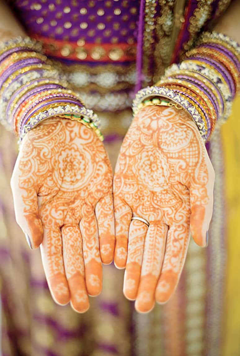 indian henna wedding
