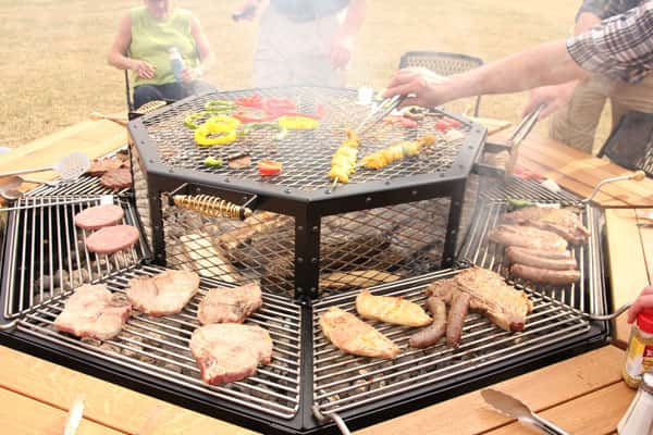 shared grill