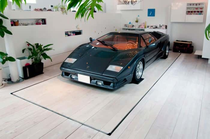 Innovative Nine Car Garage