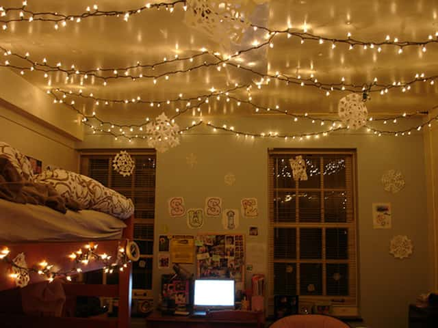 fairy lights display