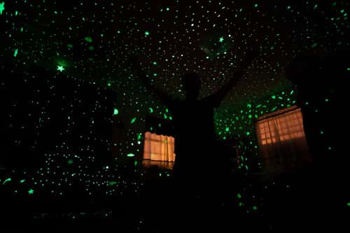 glow in the dark stars bedroom