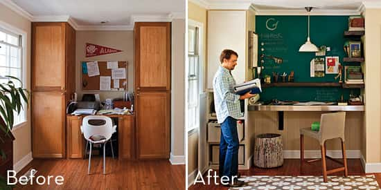 DIY Office Makeover Ideas
