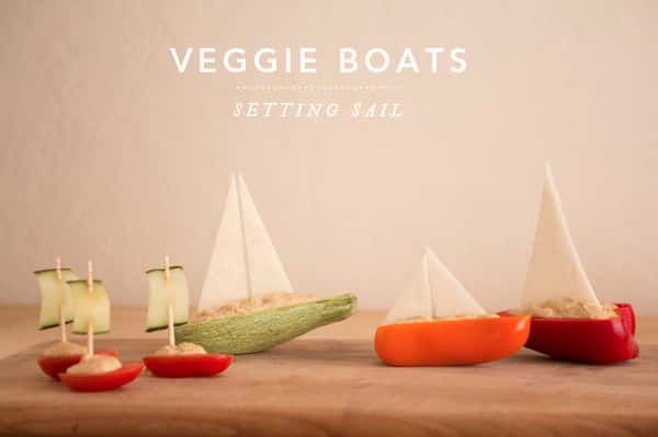 Creative Vegetable Boats