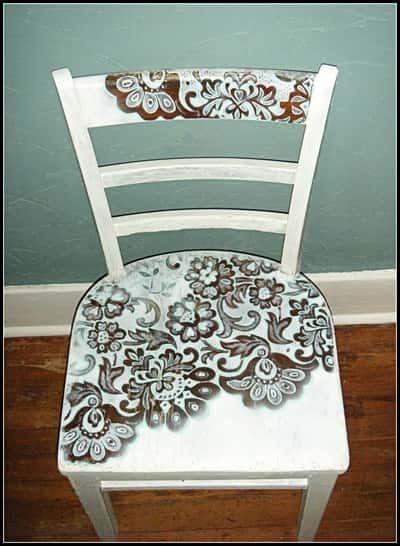 Easy Vintage Lace Designed Chair