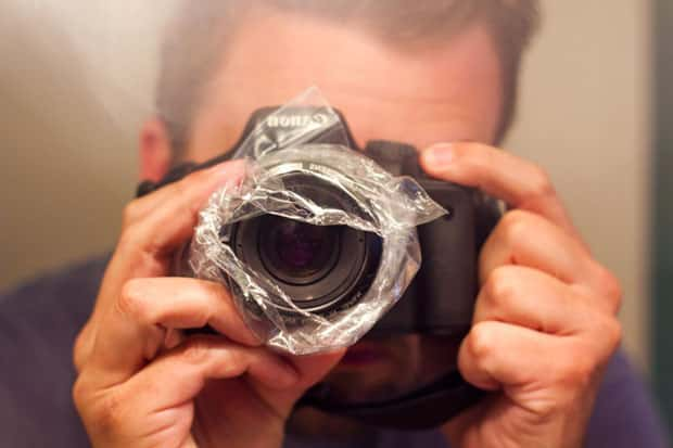 Cool Photography Effect Using Sandwich Bags