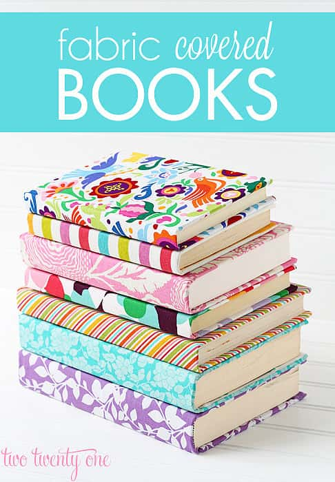 Fabric-Covered-Books