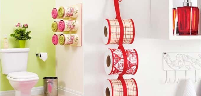 Reorganize Your Bathroom With Tin Cans