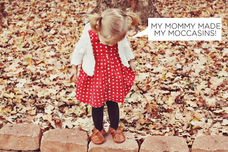 DIY Moccasins for Kids