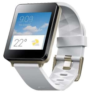 white gold smartwatch