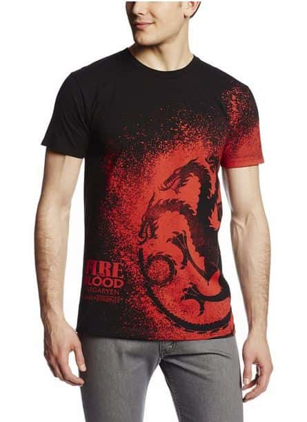 Game of Thrones Dragon shirt