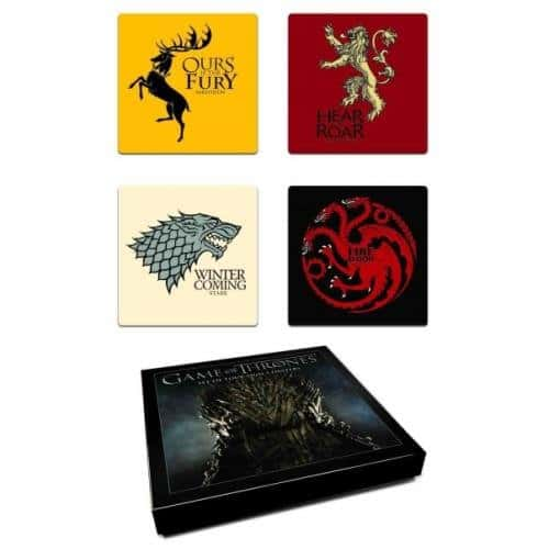 Game of Thrones drink coasters