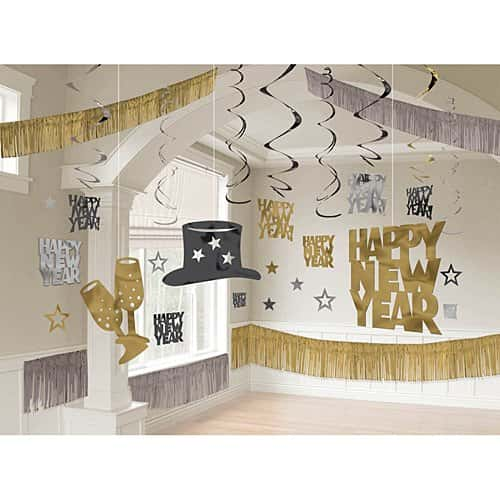 New years decorations