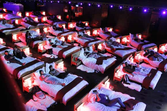 Most Comfortable Cinemas Ever