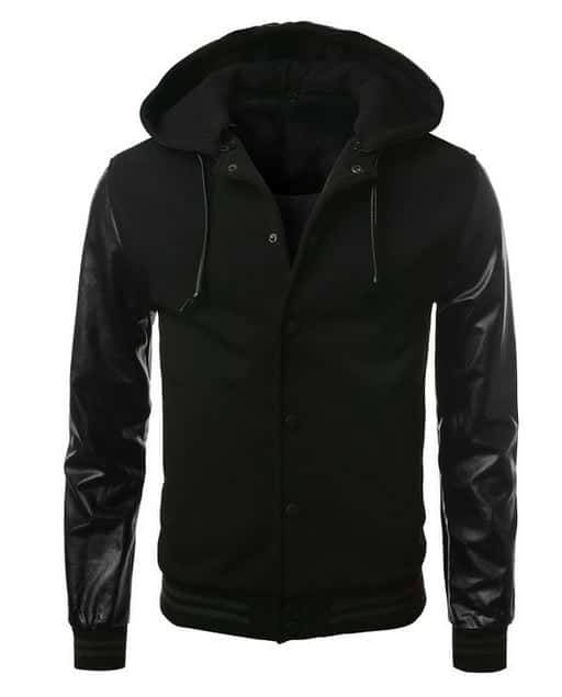 black swag jacket