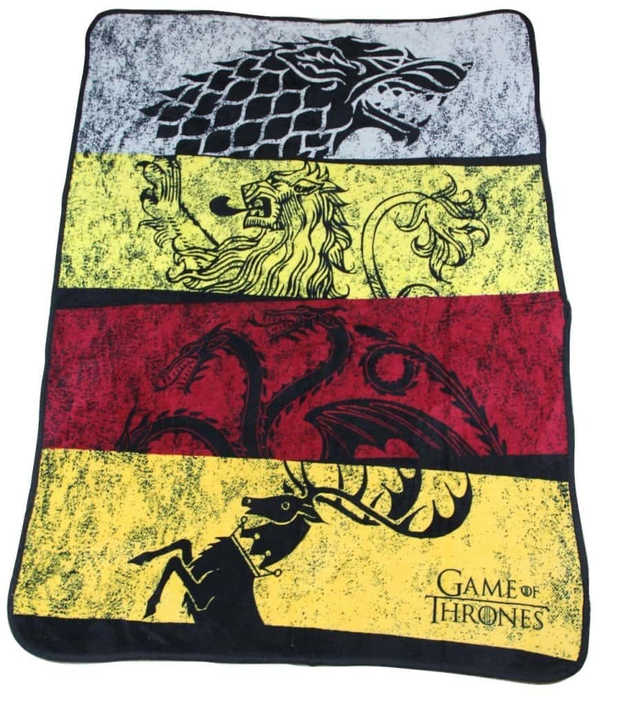 game of thrones blanket fleece