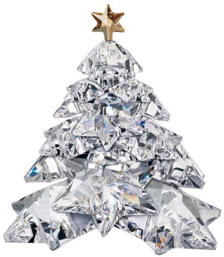 swarovski christmas star tree