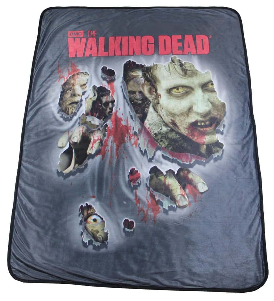 walking dead blanket