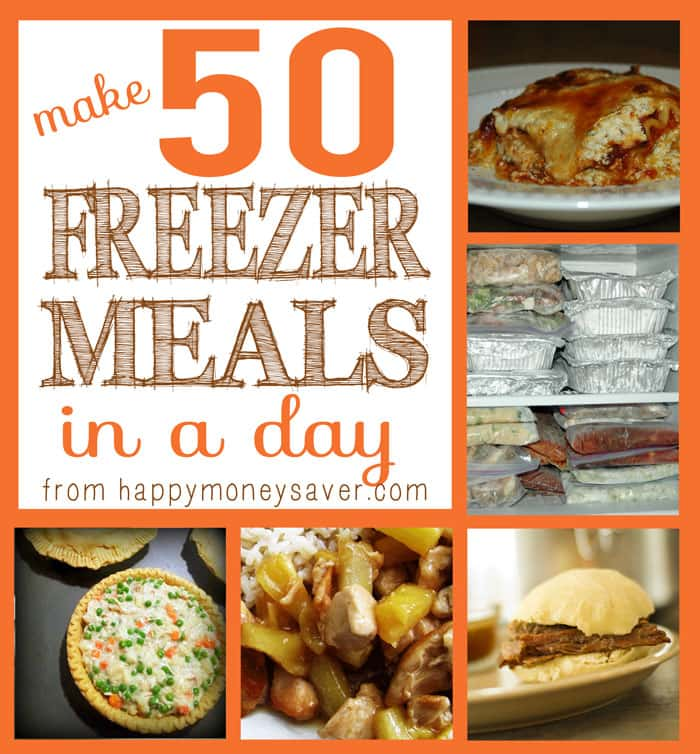 Make 50 Frozen Meals In One Day