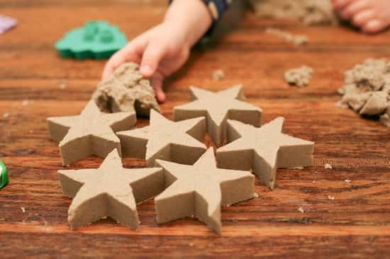 kinetic sand cut outs