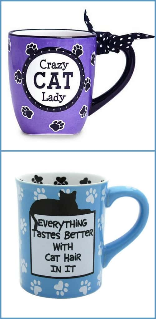 cat lady mugs