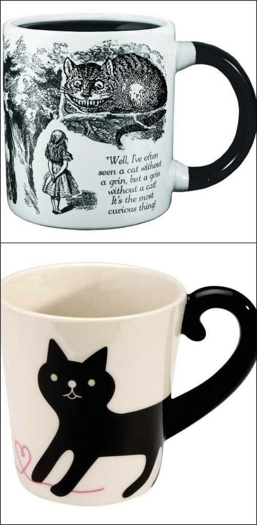 cat mugs cute