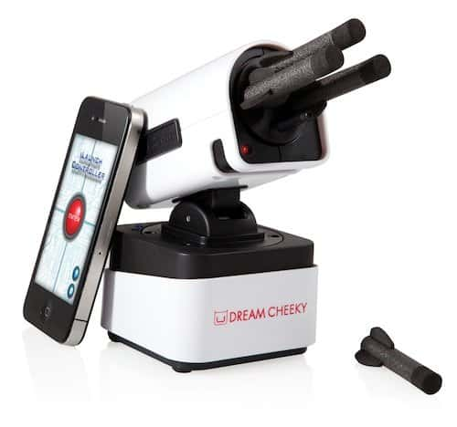 smartphone missile launcher