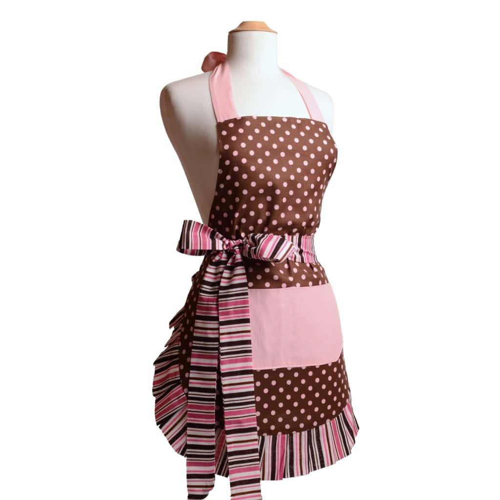 Adorable Pink Chocolate Designer Apron